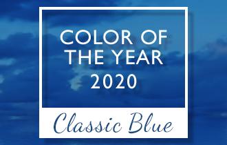 2020年トレンドカラー「クラシック・ブルー」